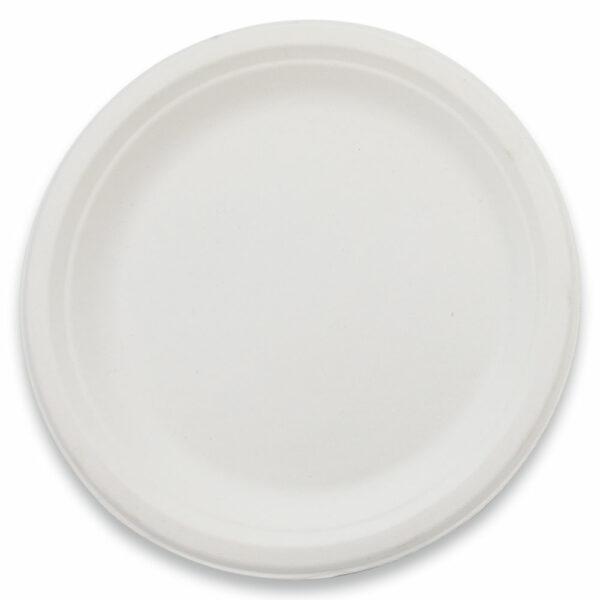 Assiette Ovale Bagasse 19x26cm