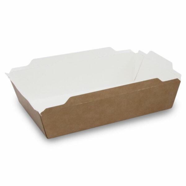 Boîte à Salade Fuzione à Fenêtre Carton 19cm/17x14cm / 1.2x4.5cm