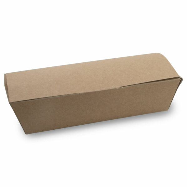 Boîte Couvercle Rectangle Carton Kraft Fermé 2.5cm 2.2x1.25cm 0.95x0.6cm