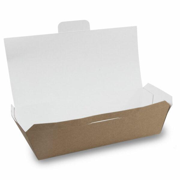 Boîte Couvercle Rectangle Carton Kraft Ouvert 2.5cm 2.2x1.25cm 0.95x0.6cm