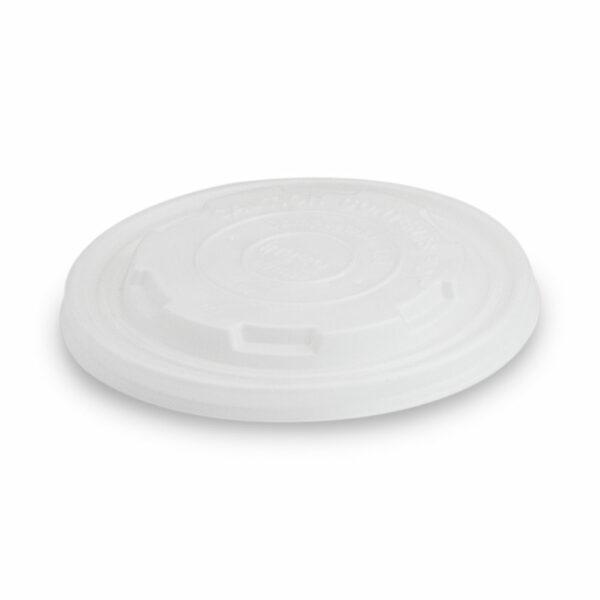 Couvercle CPLA pour Pot à Soupe Carton PLA 16/19/32oz ø 12cm