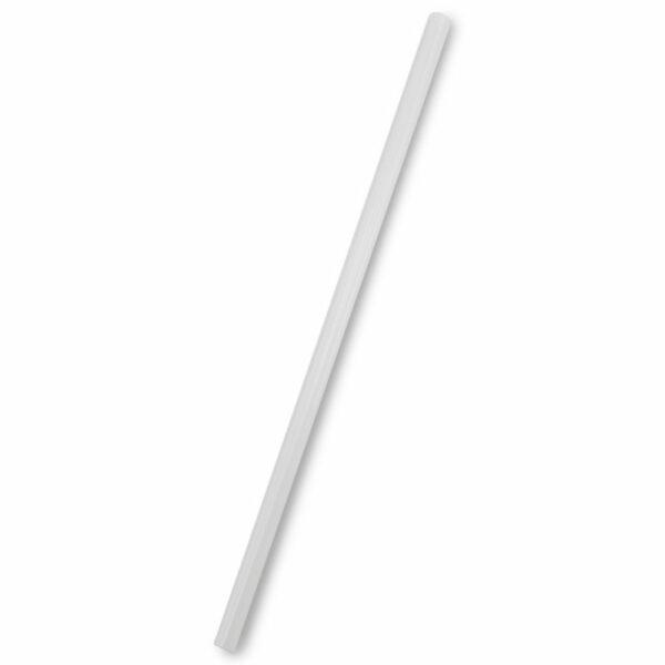 Paille PLA Blanc Emballé Ø 0.6cm h.20cm