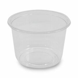 Pot Cristal rPET Rond Ø 11.7cm h.7.3cm