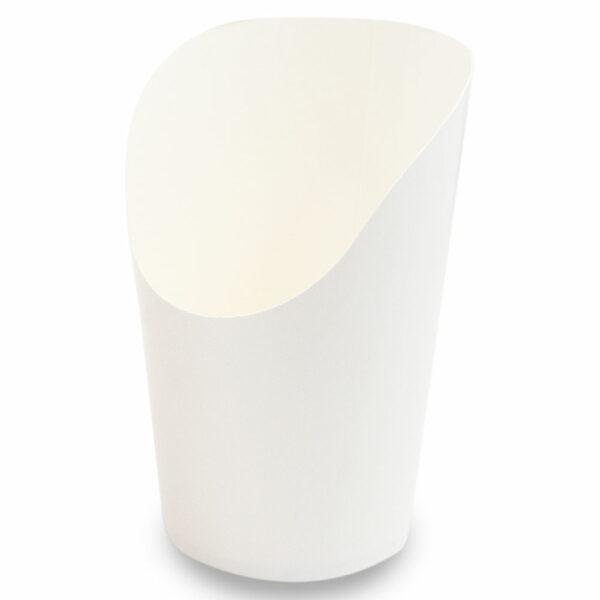 Pot Wrap Carton Blanc Ø 8/6cm h.7/11cm