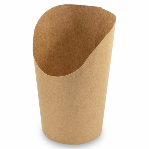 Pot Wrap Carton Brun Ø 8/6cm h.7/11cm