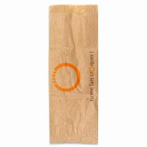 Sac Sandwich Papier Blanc 9+6x34cm