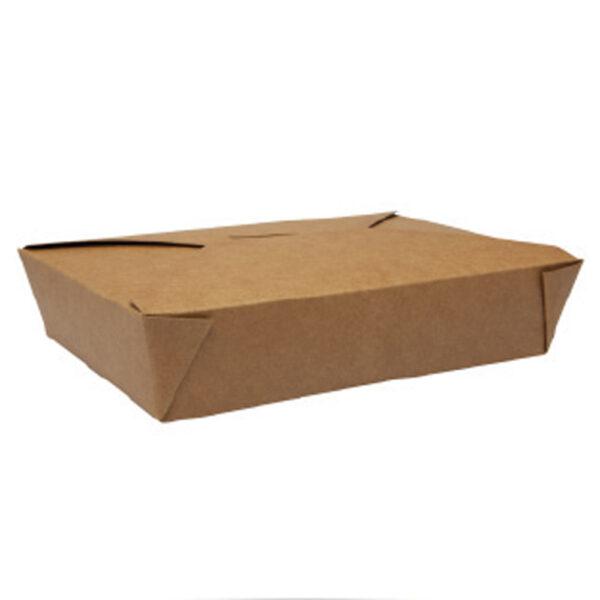 Boîte Rectangle Biopack Carton Kraft 19.7x14x4.8cm