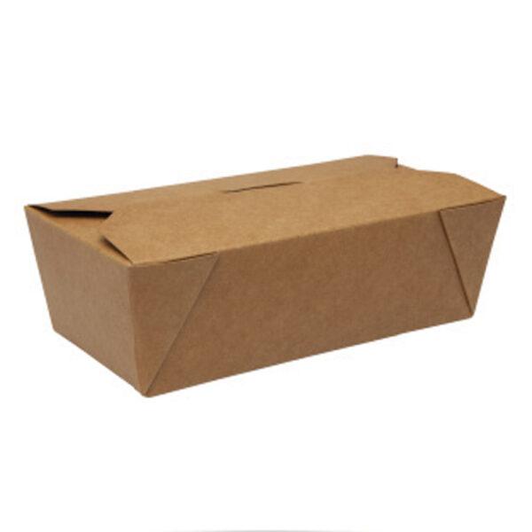 Boîte Rectangle Biopack Carton Kraft 16.7x9x6cm