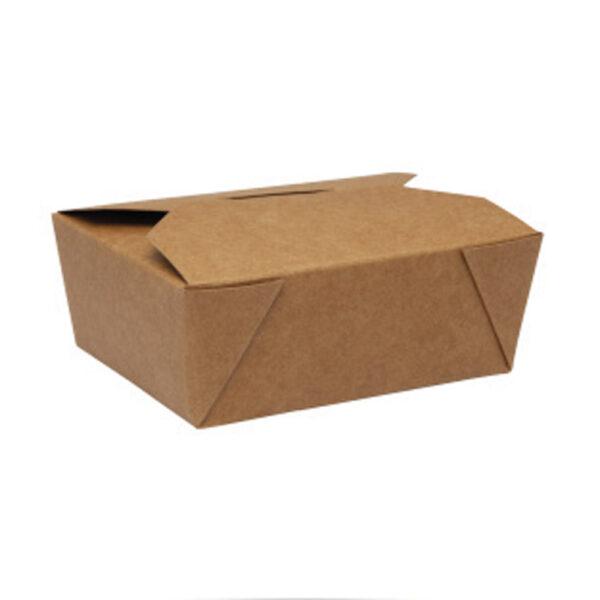 Boîte Rectangle Biopack Carton Kraft 9x11x4.5cm
