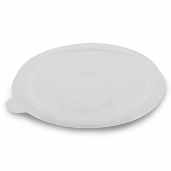 Couvercle Dôme PP pour Bol Salade Carton Ø 15,5cm