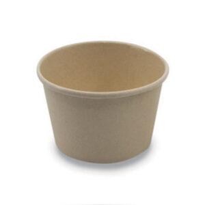 Pot Bambou Biodégradable 120ml Ø 12cm h.7.6cm