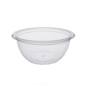 Pot à Salade Deligreen Cristal RPET 240ml 12.9cm - h 3.72cm