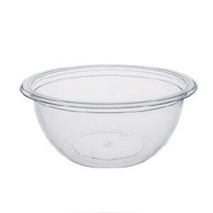 Pot à Salade Deligreen Cristal RPET 375ml 12.9cm - h 5.7cm