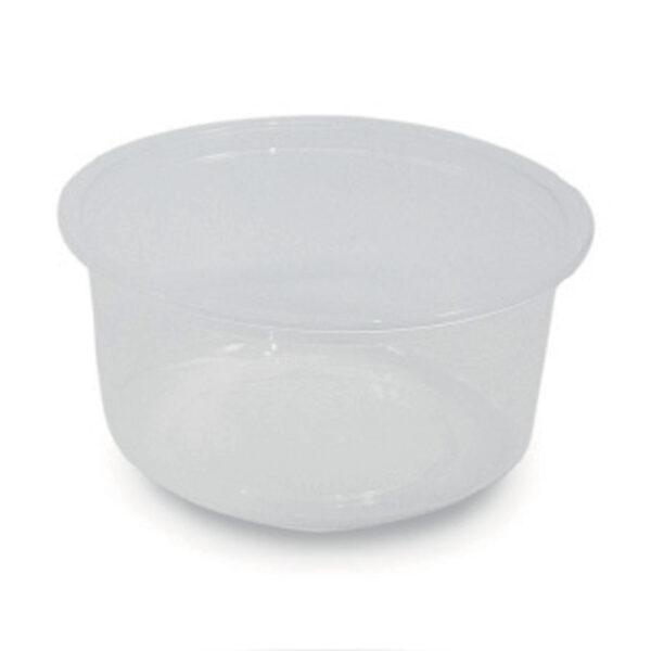 Pot Rond Cristal rPET 500ml Ø 11.5cm h.8cm