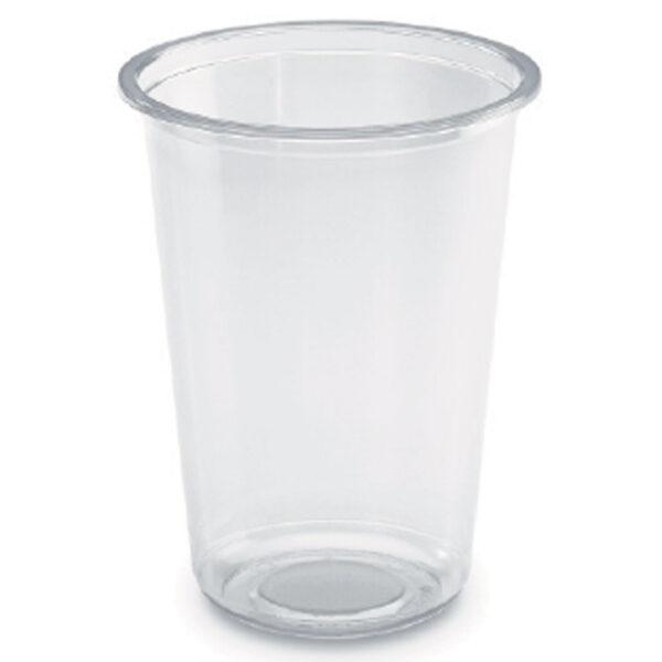 Pot Rond Cristal RPET 1000ml Ø 11.7cm h.15.6cm