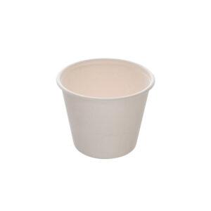 Pot à Soupe Bagasse Biodégradable ø10.5cm h.8.3cm